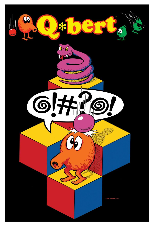 Q*bert Arcade Game Released by Gottlieb Fall 1982   Community