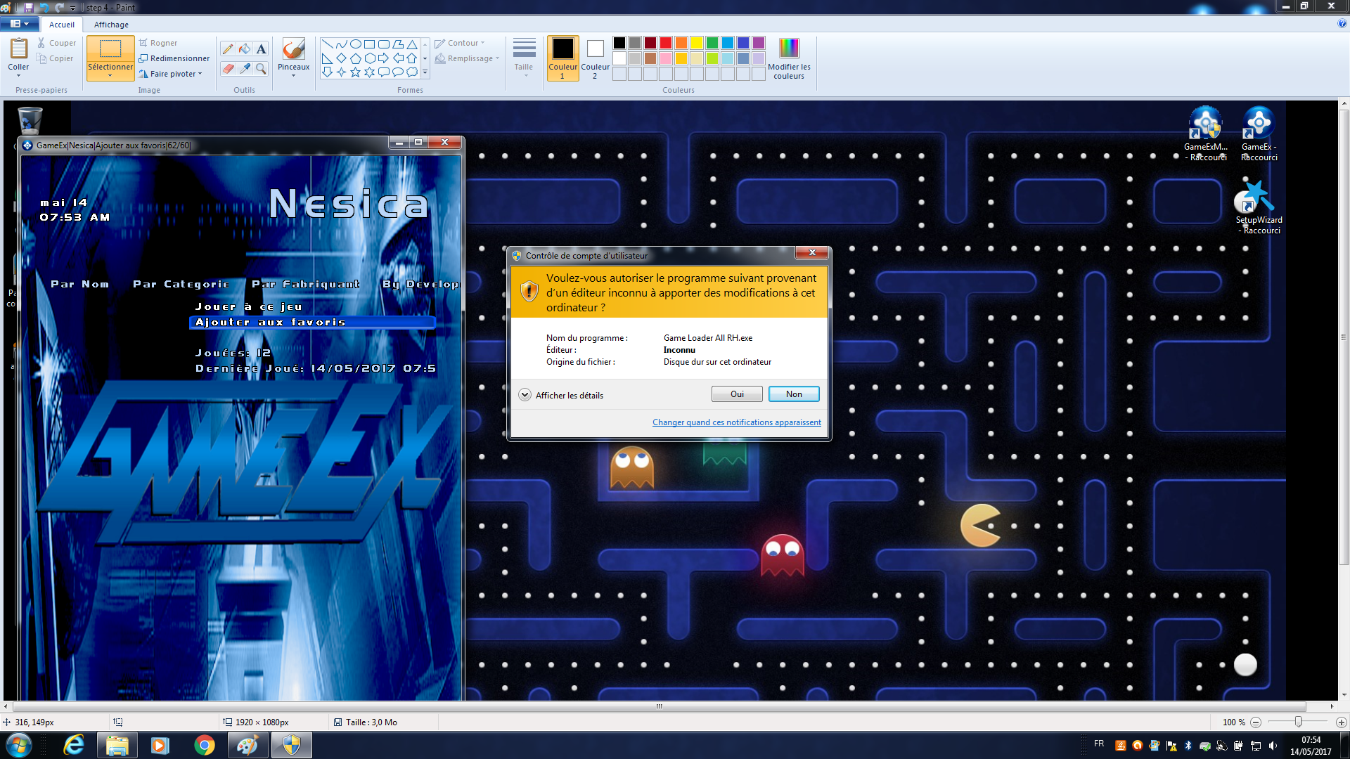 gameex and Game Loader All RH --> errors - General - Spesoft Forums