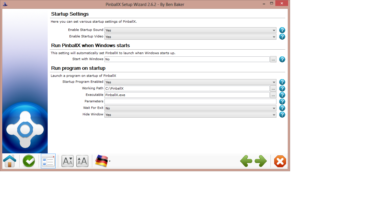How can i shell pinballx using windows 8 pro  - General - Spesoft Forums