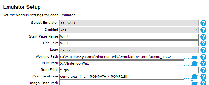RESOLVED] Cemu - launching game shortcuts issue - General