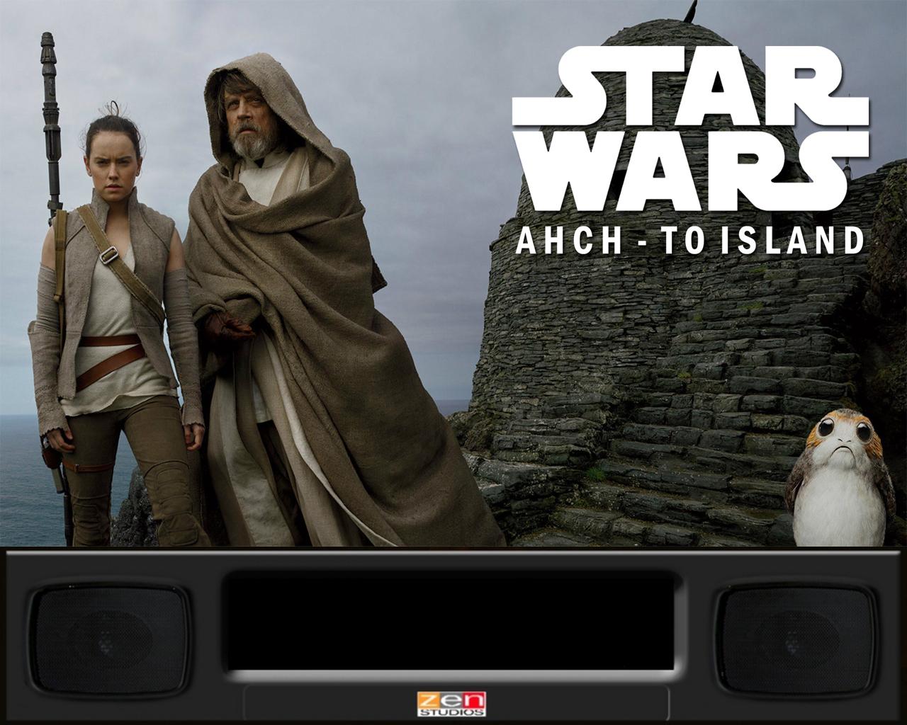 FX3 StarWars Last Jedi Media Pack - PinballX Media Projects