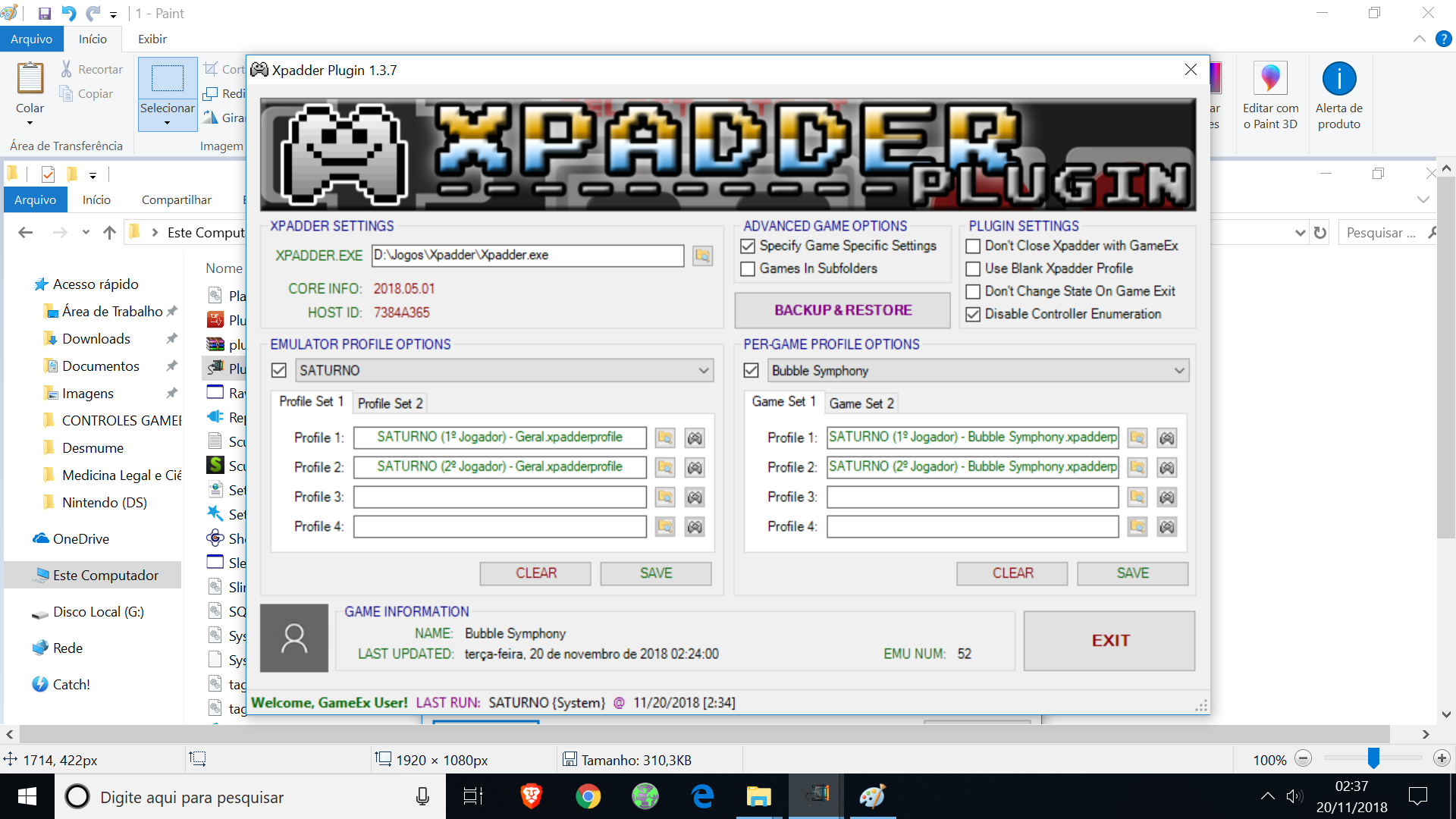 RESOLVED] Xpadder Plugin: Game Specific Settings Are Not