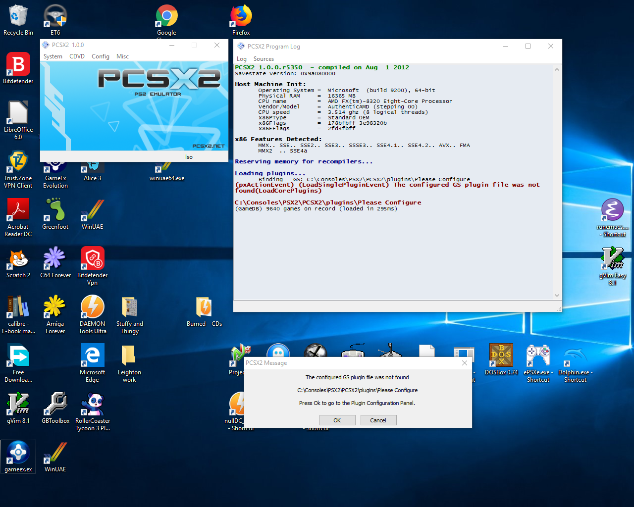 RESOLVED] Pcsx2 stopped working - General - Spesoft Forums