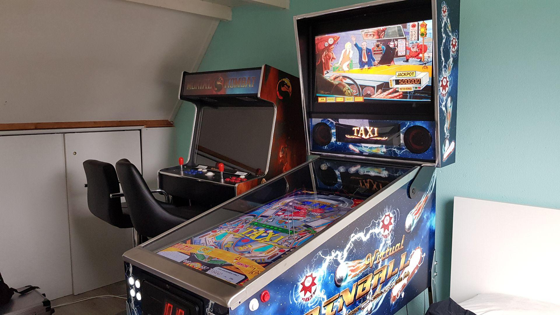 Home made Virtual Pinball Cabinet - Gamer Rigs - Spesoft Forums